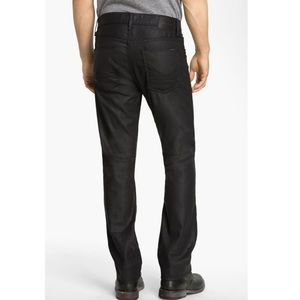 HUDSON ~ dandy slouchy straight tar color jeans